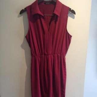 Fuchsia Size 10 Portmans Dress
