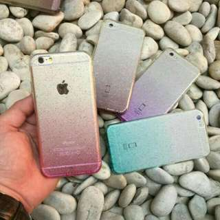 CASE GLITTER FOR IPHONE 5/5S/6/6S/6+