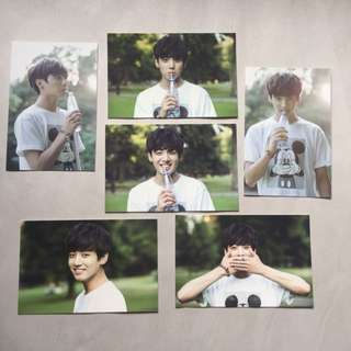 BTS 2nd Muster Zip Code 17520 Official Photo Card Set Jungkook