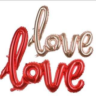 "Foil Ballon ""LOVE"""