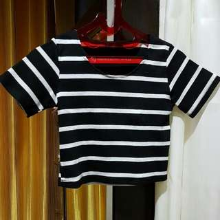 CLOTHING STRIPESS CROPTI