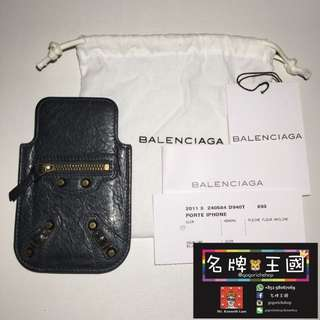 *限時優惠* [中古] BALENCIAGA Leather Case for iPhone [95%新]