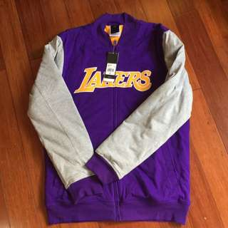 Adidas Performance Lakers Long Thick Jacket