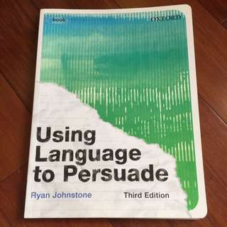 Using Language To Persuade Oxford Textbook