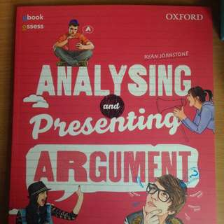 Oxford Analysing And Presenting Argument