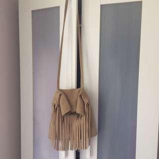 Gorgeous Suede Tassel Bag