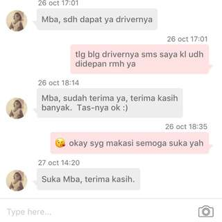 Testi bag:) thankyou. trusted