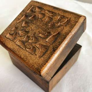 Free Shipping Wooden Trinket Box