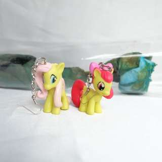 Yellow Pony Earring
