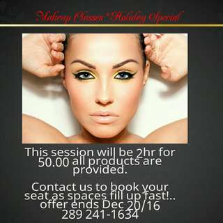 Makeup Classes * Holiday Special