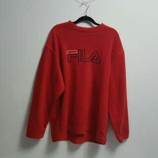 Fila - Vinatge Fleece Sweater