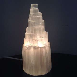 ✨SALE - Selenite Lamp