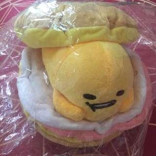 漢堡蛋黃哥 娃娃 玩偶