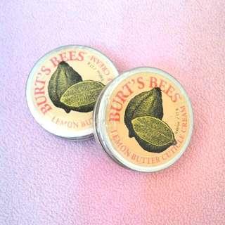全新 BURT'S BEES檸檬護甲霜