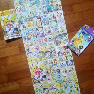 [IN STOCK] Pokemon Delicate Colourful Sticker