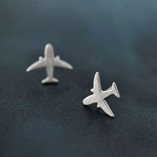 造飛機耳針 925銀