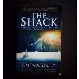 The Shack by WM Paul Young paperback (ORIGINAL PRICE: $8.52 or P423.45)