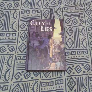 City of Lies (The Keepers, #2) by Lian Tanner