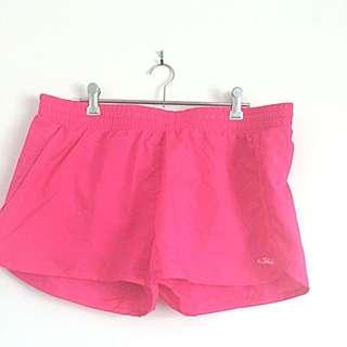 Pink Sfida Sports Shorts