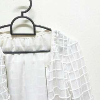 White Off Outerwear/Jacket