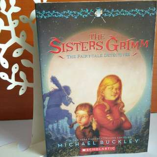 The Sisters Grimn The Fairy-tale Detectives by Michael Buckley