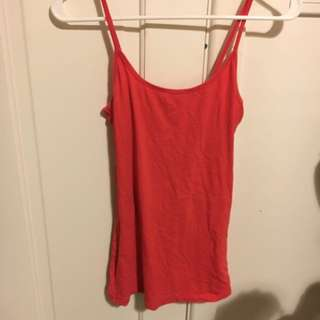 Cotton On Red Singlet