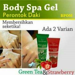 Body Spa Gel BPOM Perontok Daki