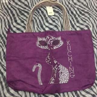 Violet Large Shoulder Bag