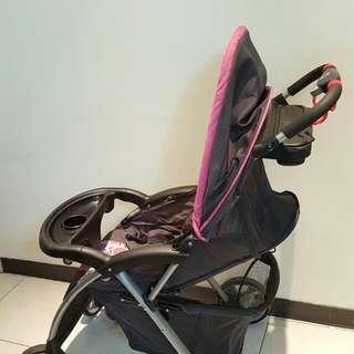 嬰兒推車+手提搖籃二合一實用車
