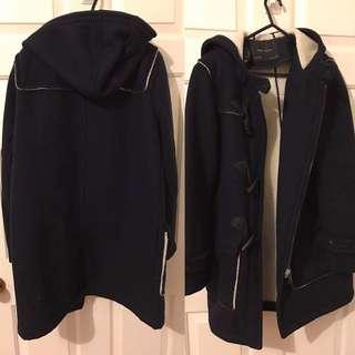 Zara Basic Duffle Coat