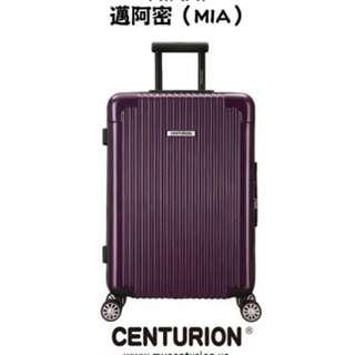 (讓)Centurion 空姐愛用行李箱 經典款 邁阿密紫 鋁框版 29吋