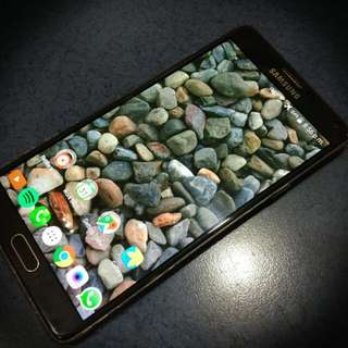 Black Samsung Galaxy Note 4 32GB Local Set