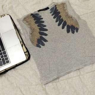 Feathers Sleeveless Top