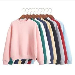 Korean Pink Pullover