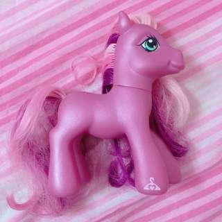 絕版 My Little Pony 彩虹小馬 彩虹 寶寶馬 2007 粉紫 夢幻