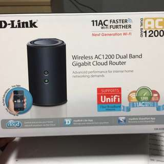 D-Link Wireless AC1200 Dual Band Cloud Router