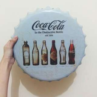 Coca-Cola (Coke) Tin Wall Decor