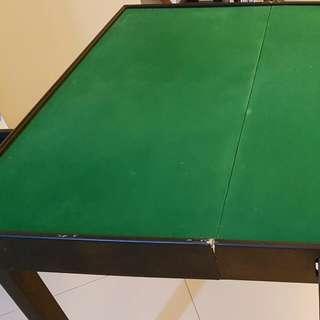 Portable Wooden Mahjong Table