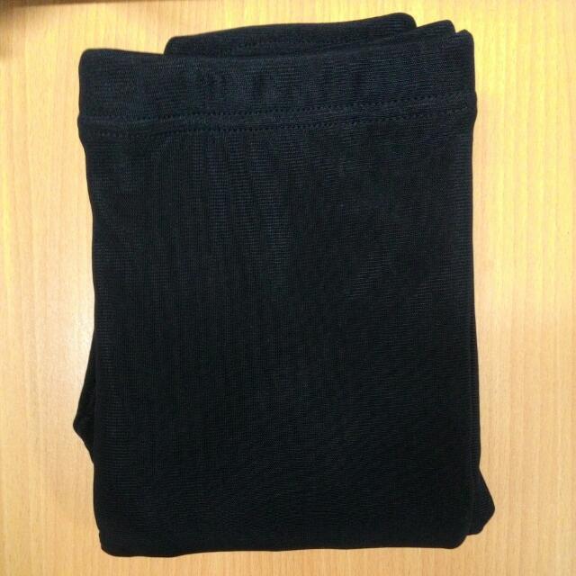 透膚絲襪內刷毛內搭褲