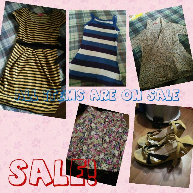 All Items Are On Sale!!!