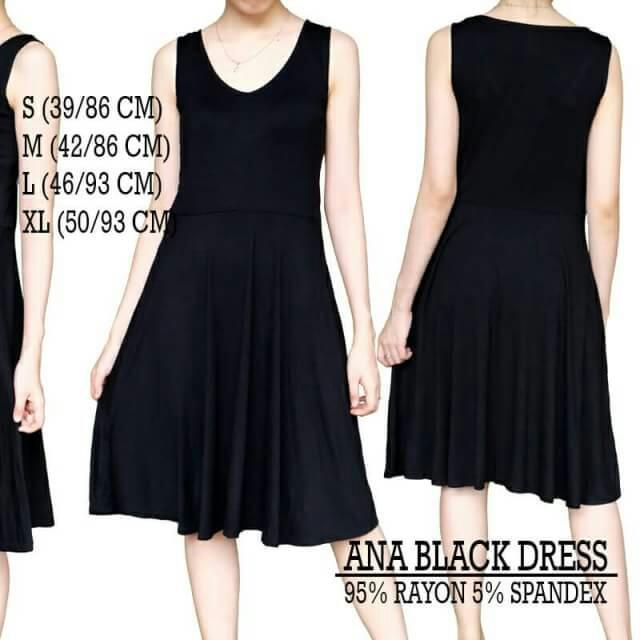Ana Black Dress