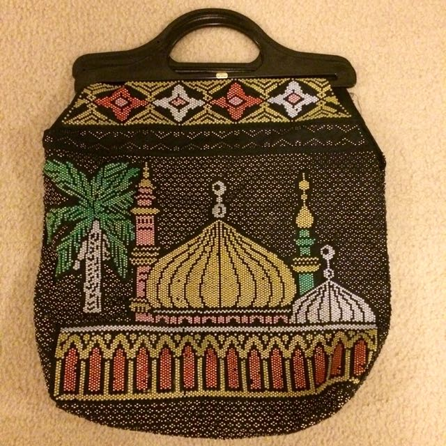 Authentic Beaded Arabian Handbag