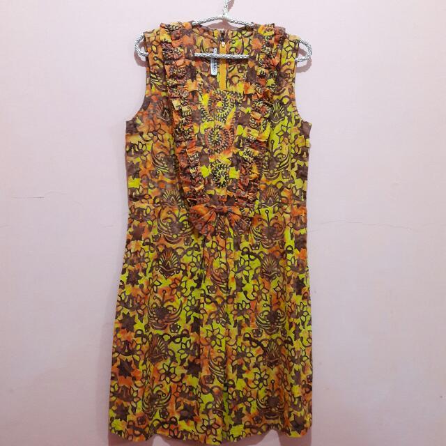Batik Keris Dress | Terusan