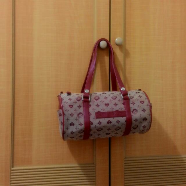 Betty Boop俏麗貝蒂圓桶包