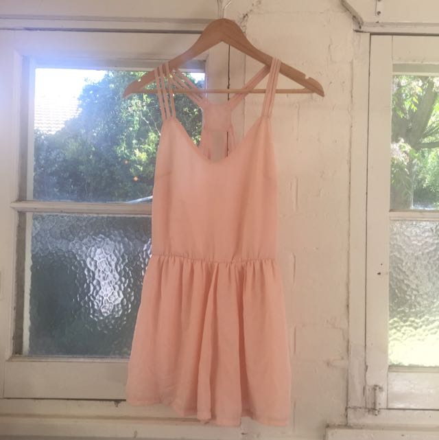 Blush Pink Playsuit Size 8 BNWT