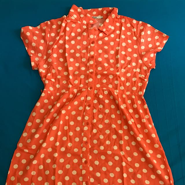 Body & Soul Polka Dot Dress Ori