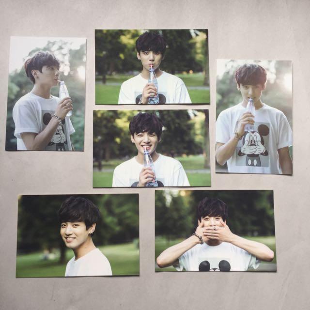 BTS 2nd Muster Zip Code 17520 Official Photo Card Set Jungkook
