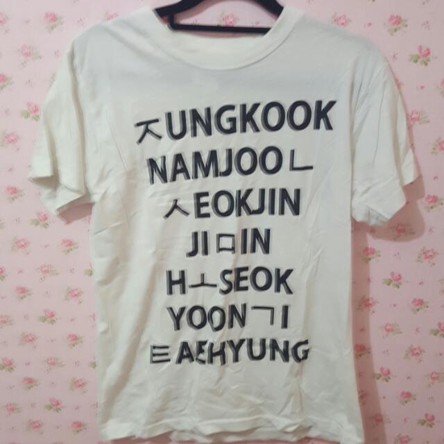 🐽BTS Fanmade Shirt