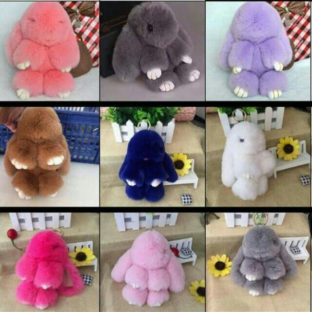 Bunny Fur Charm