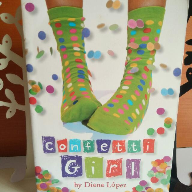 Confetti Girl by Diana López